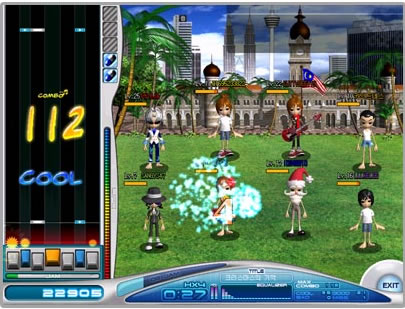 オンラインゲーム O2Jam