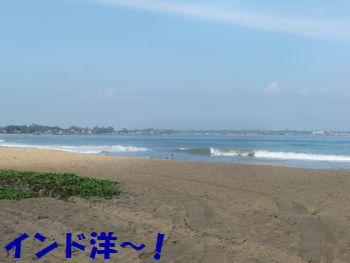 普通の海~!あれ?