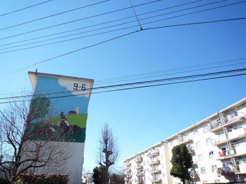 住棟壁画2