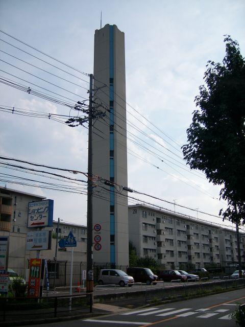 公団桃山南団地の給水塔4