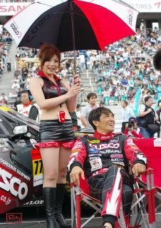山野哲也選手と長沢美樹さん