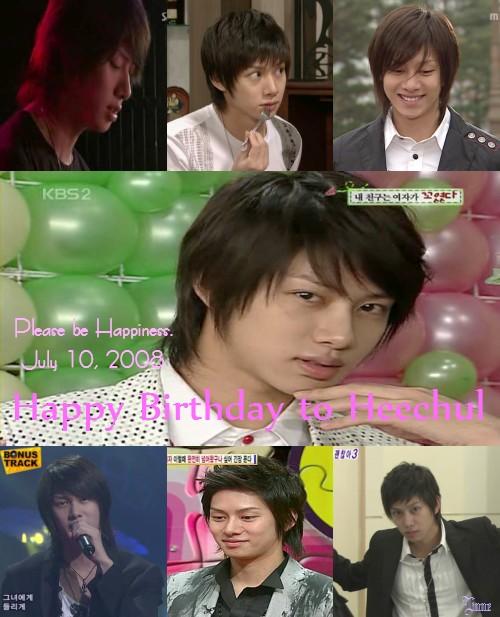Heechul's Birthday