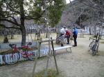 鹿島神社にて