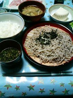 08年06月22日の夕食