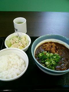 08年06月27日なか卯/食事