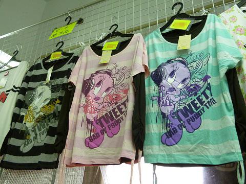 tweetyシャツ2
