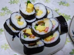 復帰祝い寿司3