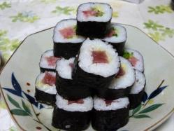 復帰祝い寿司2