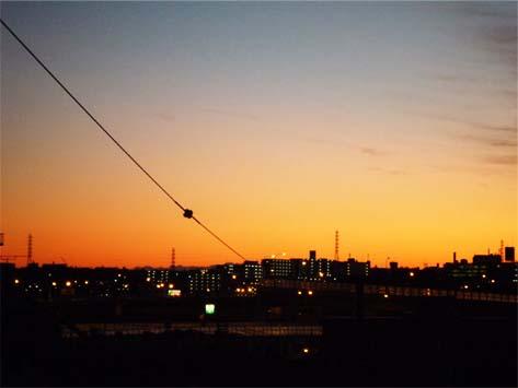 夕方の空1