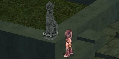この石像はなーに?