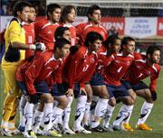 チリ代表 集合写真