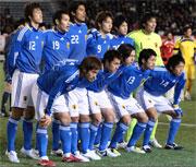 日本代表 集合写真