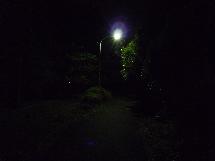 夜の緑山峠2