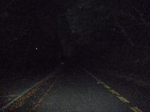 夜の緑山峠1