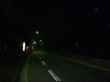 夜の緑山峠4