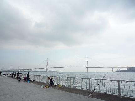 ふれーゆからのつるみつばさ橋