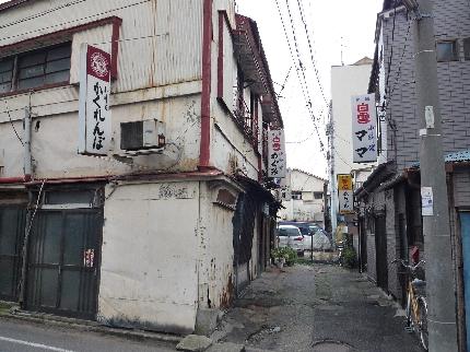 本町通りの裏路地1