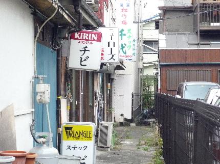 本町通りの裏路地2