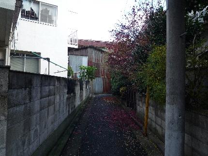 中山の裏路地