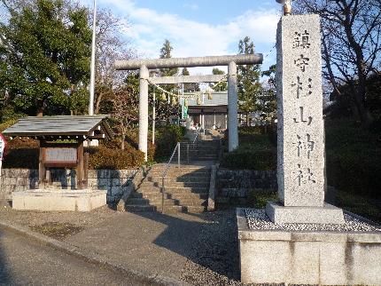 成瀬杉山神社1