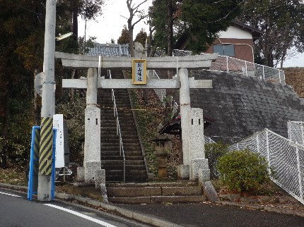 佐江戸杉山神社1