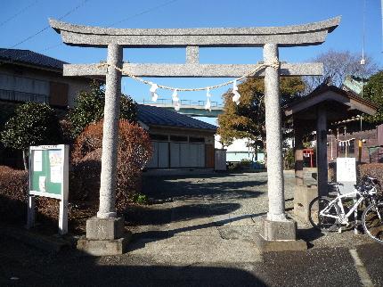 市ヶ尾杉山神社1