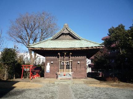 市ヶ尾杉山神社2