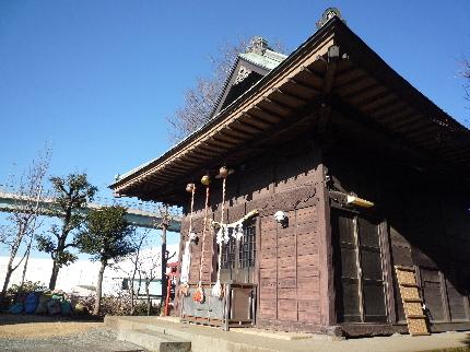 市ヶ尾杉山神社3