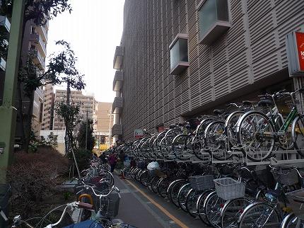 武蔵小杉の駐輪場!?