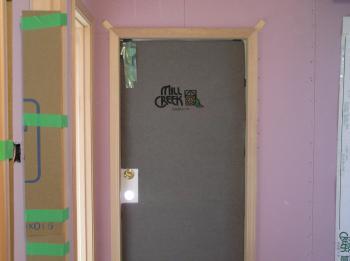 玄関ドアカバー