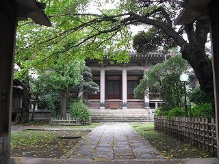 稲荷町のお寺1