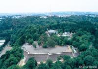 仙台城全体図