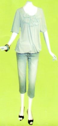 LOUNIE(ルーニィ)通販-2009春物展示会のイチ押し!即予約のデニムクロップドパンツ