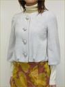 ★冬物新作★【LOUNIE / ルーニー】ウールノーカラーバルーンジャケット:elena