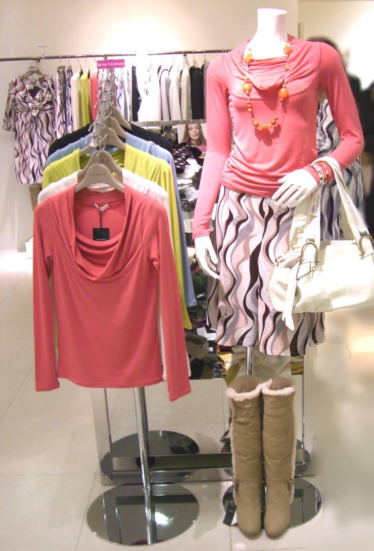 LOUNIE(ルーニィ)通販-LOUNIEプランタン銀座店へ行ってきました!マーブル柄スカートがメインボディ