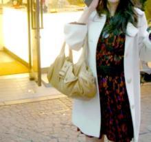LOUNIE(ルーニィ)通販:LOUNIE(ルーニィ)2009秋冬物:コーディネート日記◇記念日をLOUNIEで♪CLASSYコラボワンピで婚姻指輪を選んできました!
