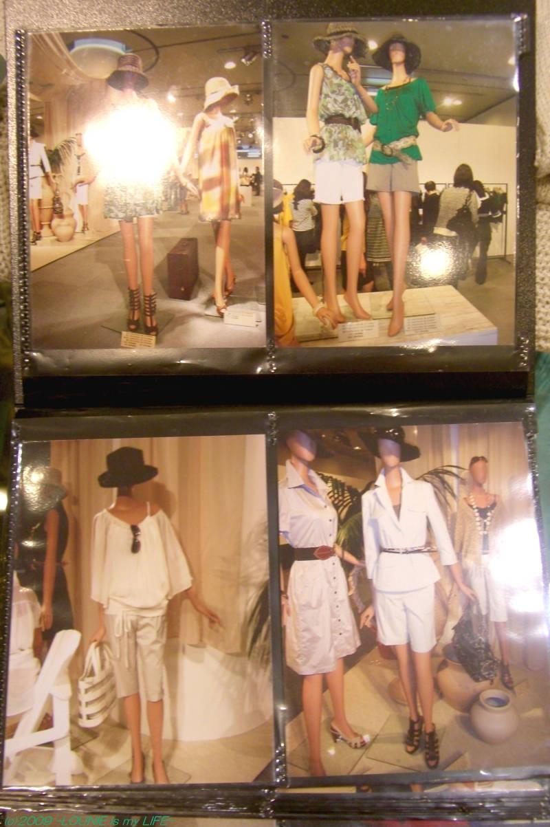 LOUNIE(ルーニィ)通販:2009夏物展示会写真!LOUNIE2009夏物展示会最新速報!展示会コーディネートをどこよりも早くご紹介^^