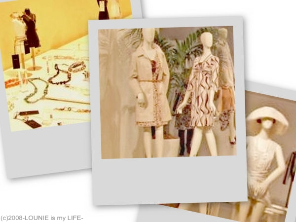 LOUNIE'09春物展示会Collage