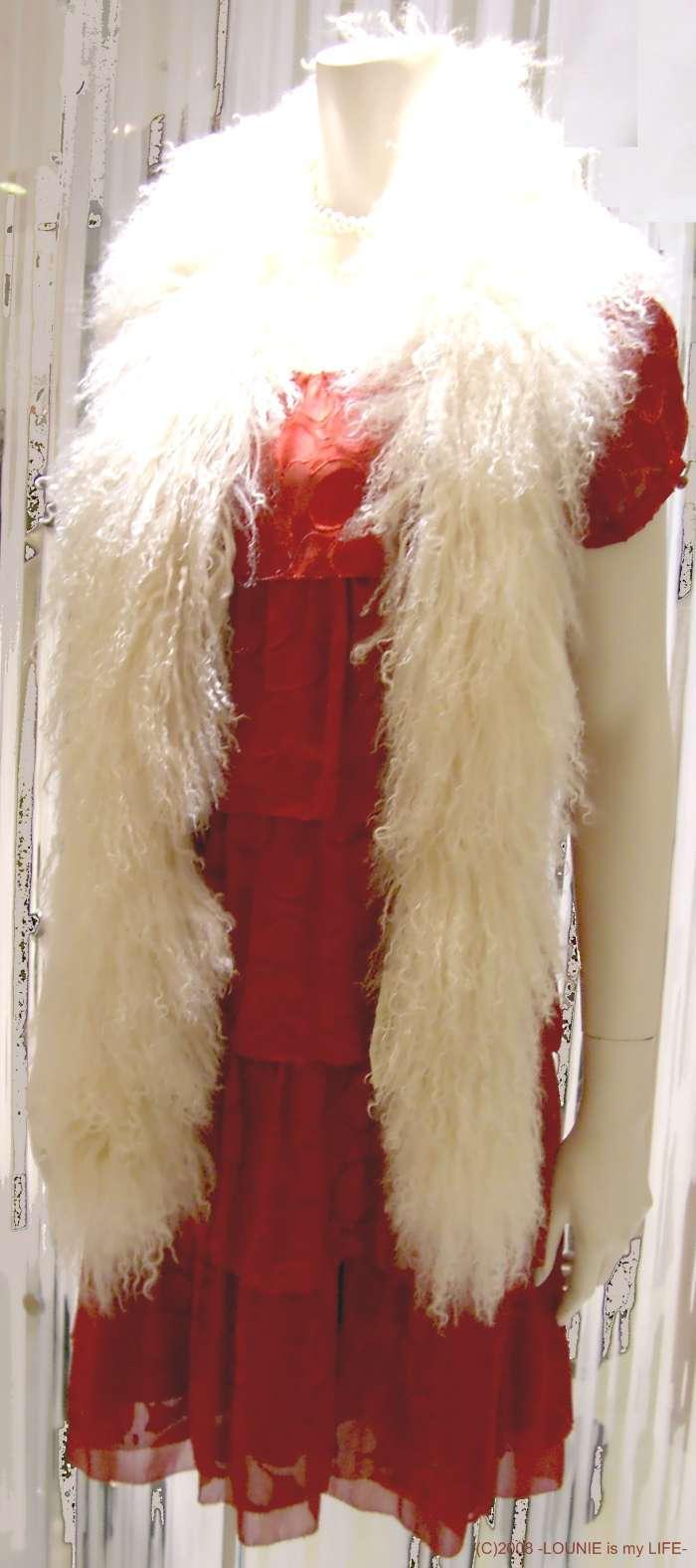 LOUNIE(ルーニィ)-2008秋冬パーティ★赤ワンピ1