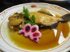 十七八のランチの魚料理(煮魚)