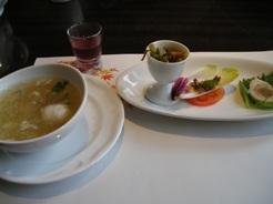 浜木綿 前菜とスープ