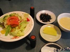 中華薬膳館 ろぢん サラダやスープ