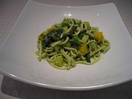 野菜のアリオリオのジュノベーゼ