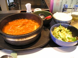 豆腐チゲ鍋