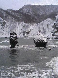 気になる岩