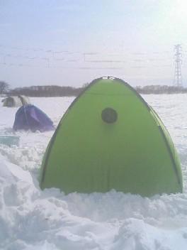 我がテント。