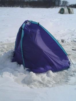 S君のテント。。。