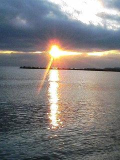 夕日のルアーマン