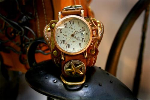 手作り腕時計 芸術品