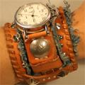 ハンドメイド腕時計デニム腕時計